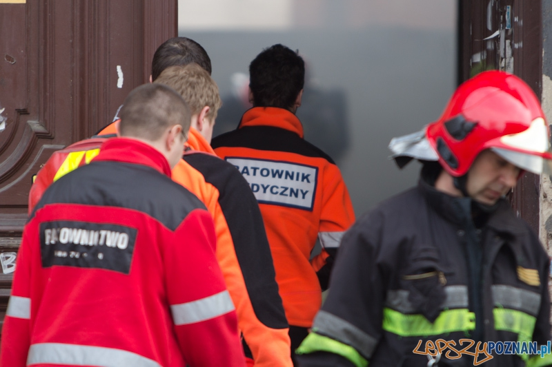 Służby w akcji, Straż pożarna, pogotowie  Foto: lepszyPOZNAN.pl / Piotr Rychter