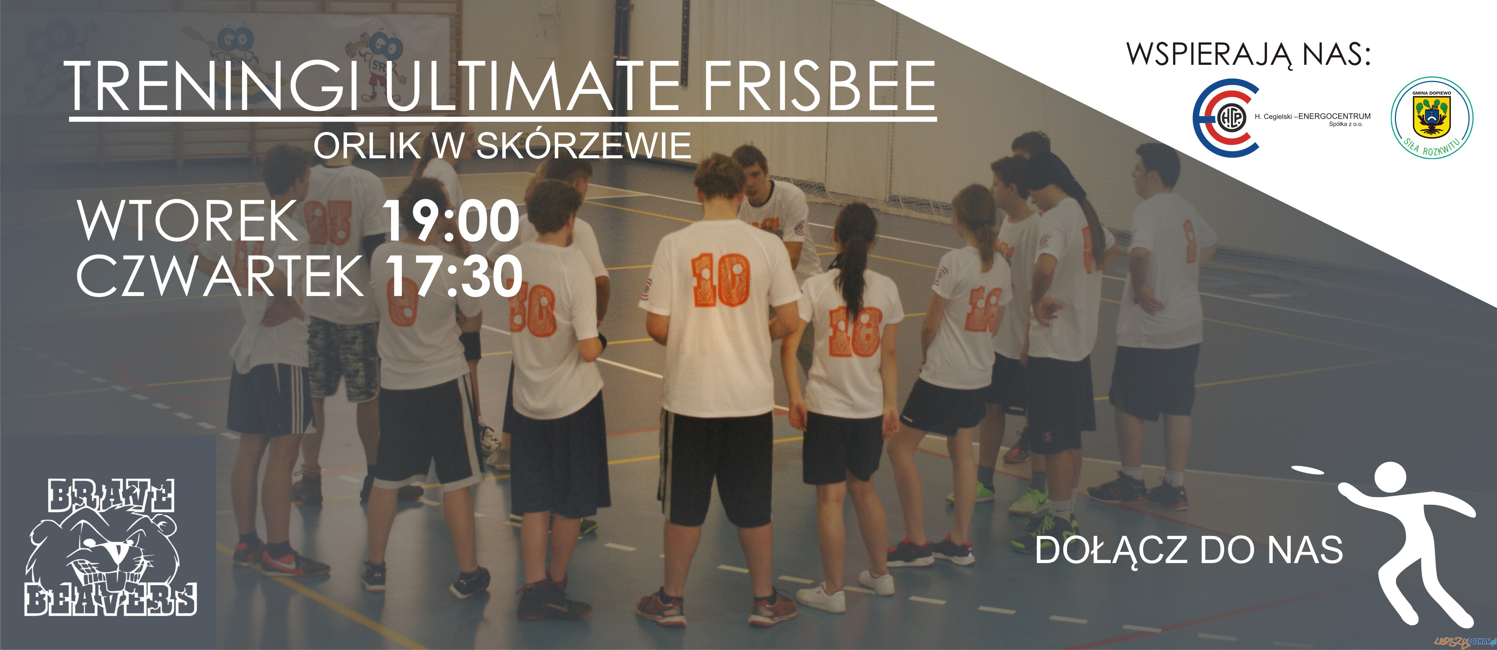 Zaproszenie na trening frisbee  Foto: