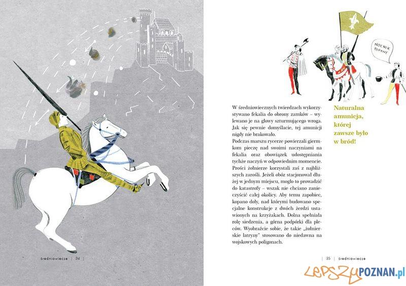 Rycerz na koniu atakowany bronią, ktorej było pod dostatkiem  Foto: Wydawnictwo Albus