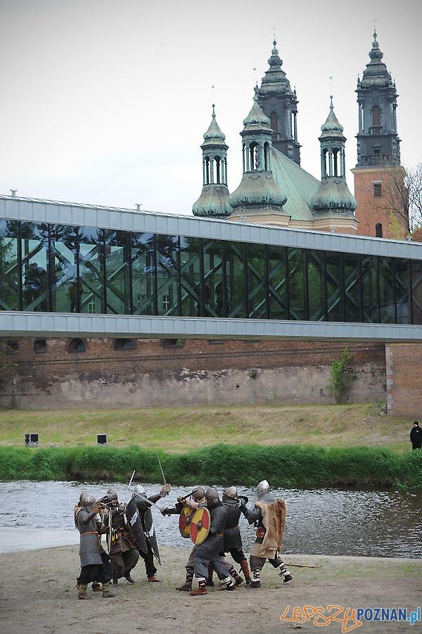 Brama Poznania wojowie  Foto: L. Gdak/Brama Poznania