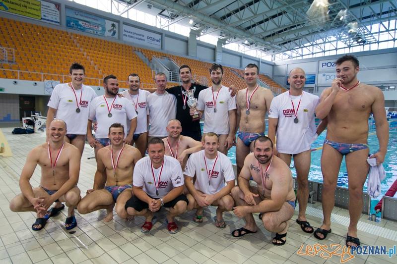 Srebro dla DSW Waterpolo Poznań  Foto: lepszyPOZNAN.pl / Piotr Rychter