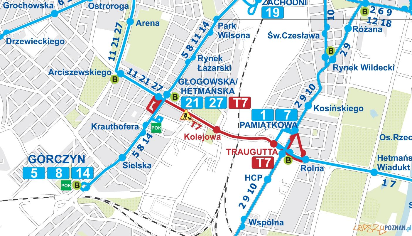 mapa-sieci-tramwajowej-11-19-czerwca-2014  Foto: ZTM