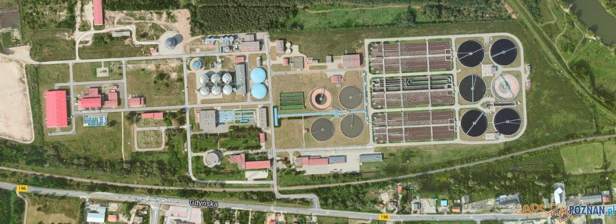 Centralna Oczyszczalnia Ścieków w Koziegłowach  Foto: Google