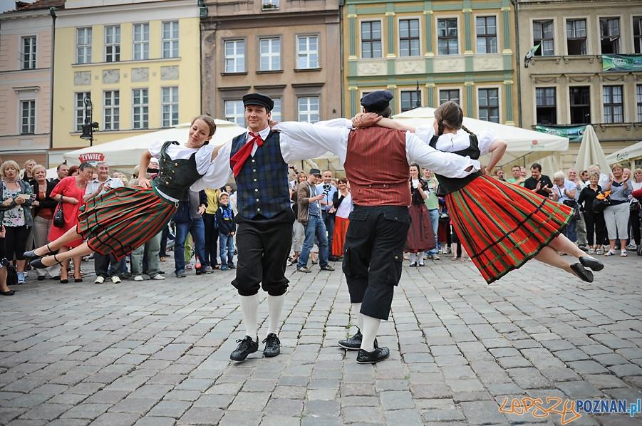 Festiwal folkloru Integracje na Starym Rynku  Foto: mat. prasowe