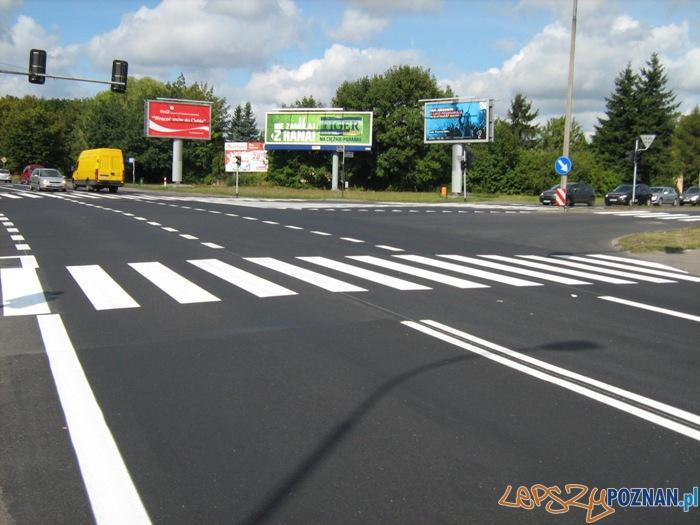 Wyremontowana Lechicka, skrzyżowanie Umultowska, Połabska  Foto: ZDM Poznań