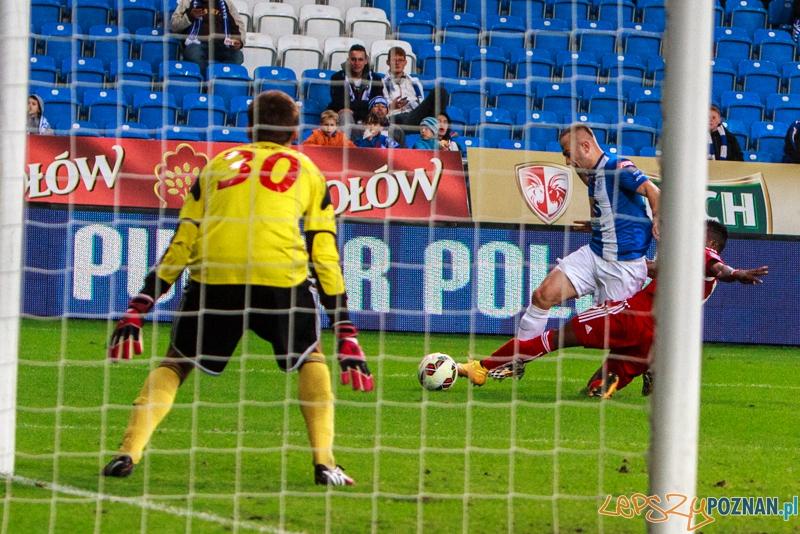 Mecz 1/16 Pucharu Polski - Lech Poznań vs Wisła Kraków (2:0) - Poznań 24.09.2014 r.  Foto: LepszyPOZNAN.pl / Paweł Rychter