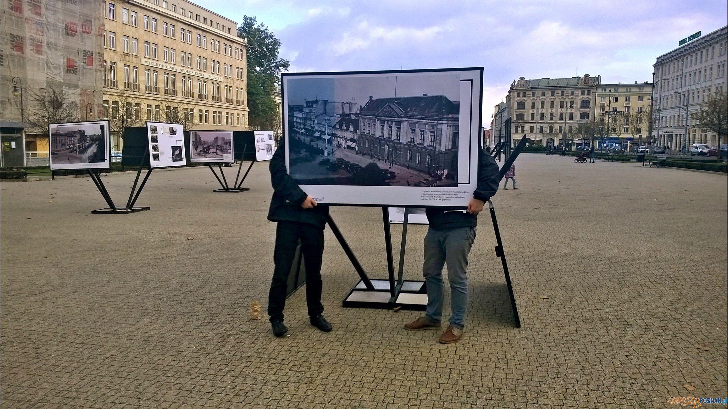 Poznańskie archiwa na Placu Wolności (5)  Foto: TD