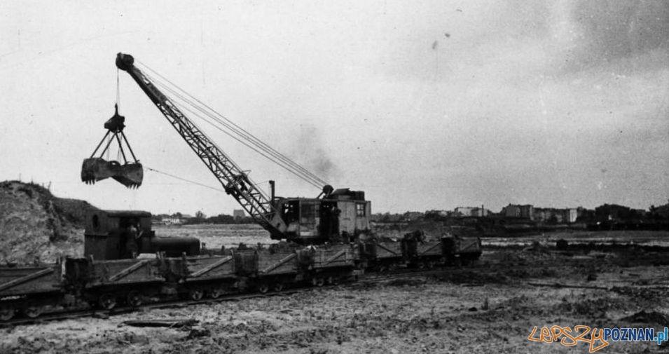 Malta - prace przy budowie jeziora  Foto: archiwum Biura Miejskiego Konserwatora Zabytków
