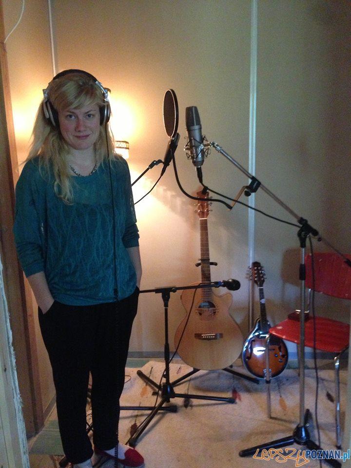 Halla Nordfjörd w studiu  Foto: Halla Nordfjörd