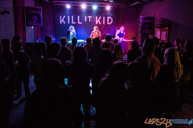 Kill It Kid (18.10.2014) Pod Minogą  Foto: © LepszyPOZNAN.pl / Karolina Kiraga
