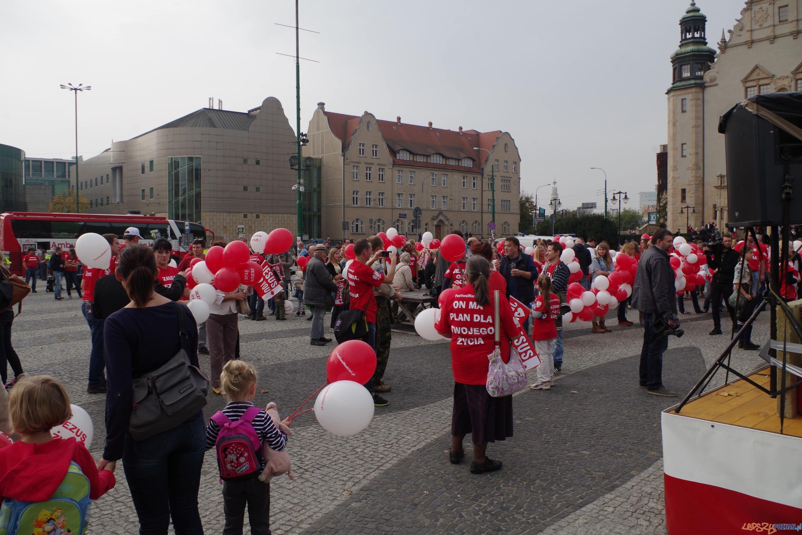 Marsz dla Jezusa w Poznaniu  Foto: Krzysztof Ludwiczak
