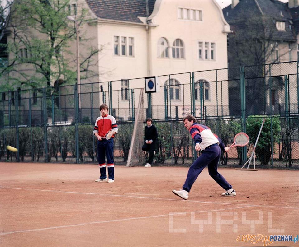 Na kortach AZS grał m.in. Wojciech Fibak  Foto: Cyryl, Jacek Kulm