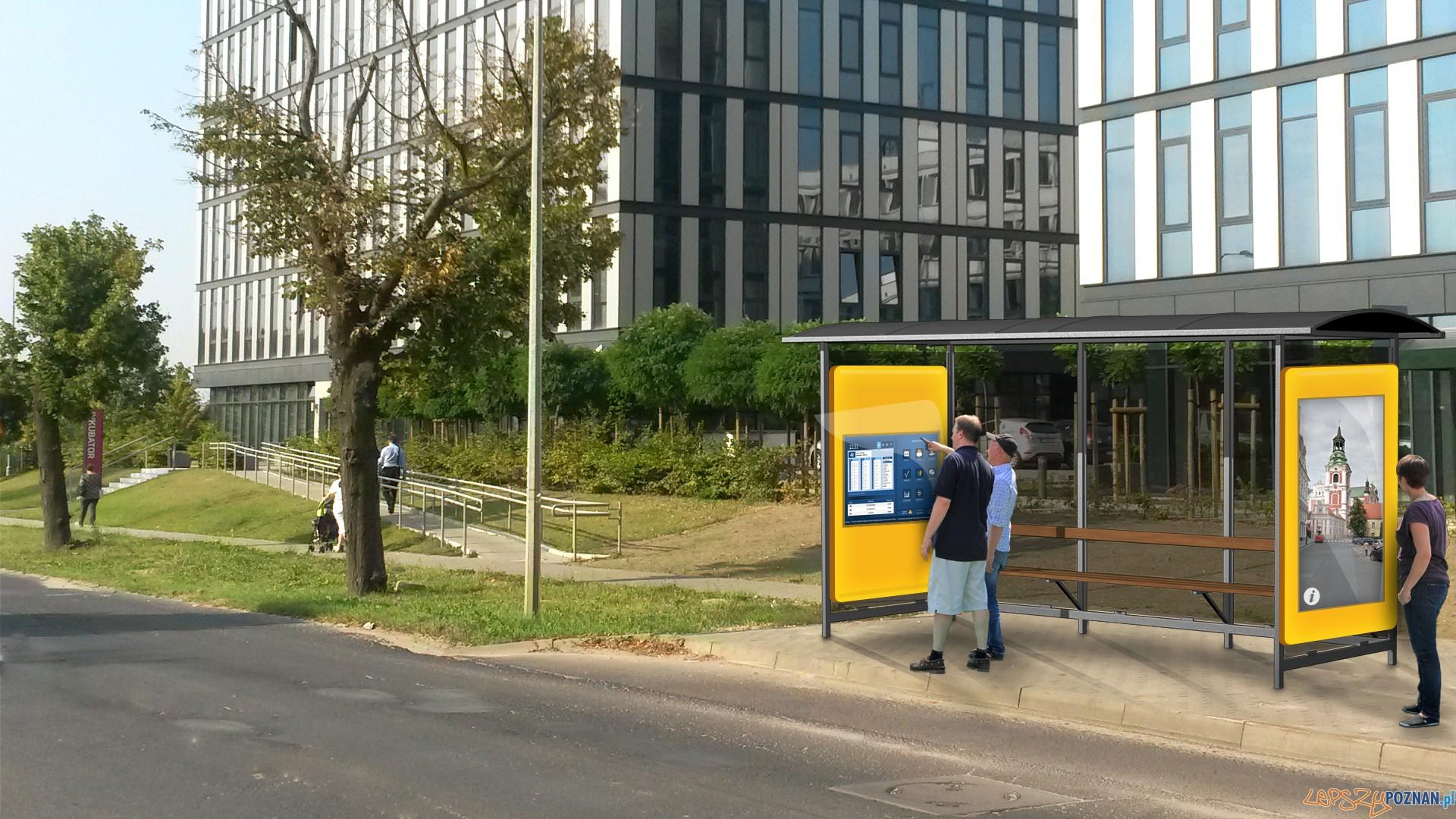 Interaktywny-przystanek  Foto: UMP