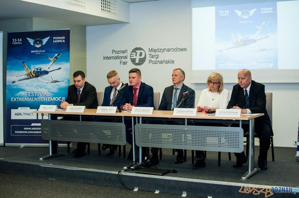 briefingu na temat Aerofestival 2015   Foto: mat. pras.