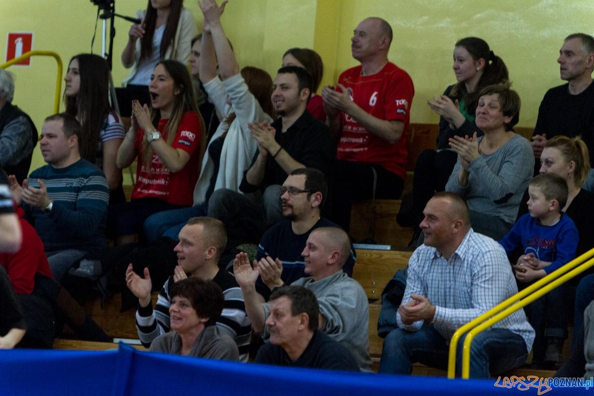 MKS Poznań - Kar-Do Spójnia Gdynia 25:20 (13:8) - Poznań 14.02.2015 r.  Foto: LepszyPOZNAN.pl / Paweł Rychter