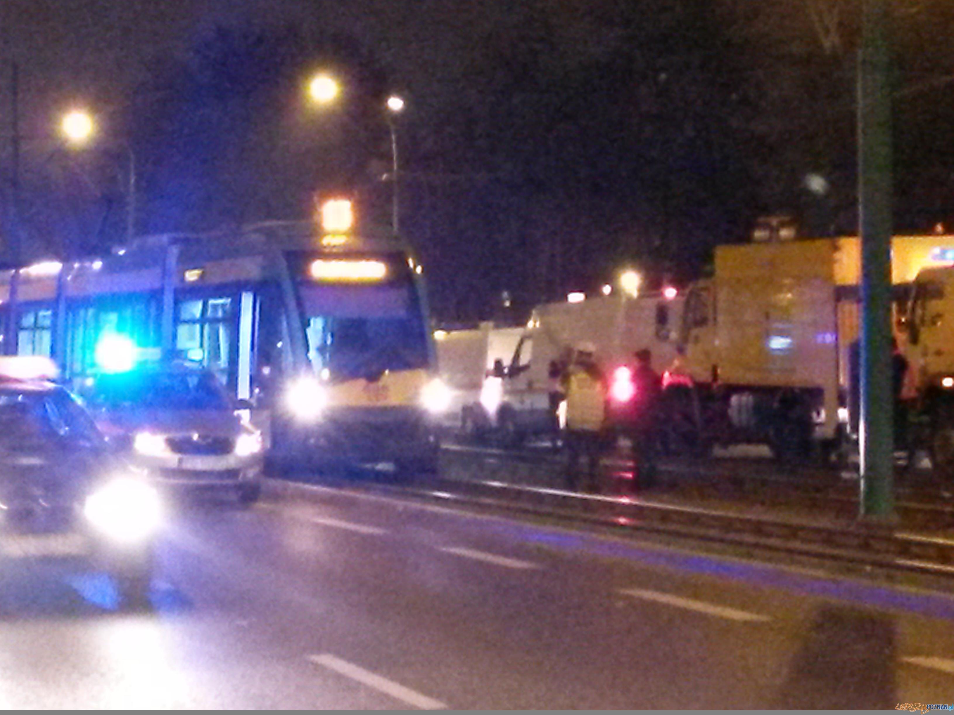 Wypadek na Grunwaldzkiej  Foto: lepszyPOZNAN.pl/ gsm