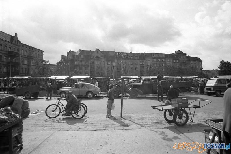 Rynek Łazarski w latach 50.tych  Foto: Jan Kurek