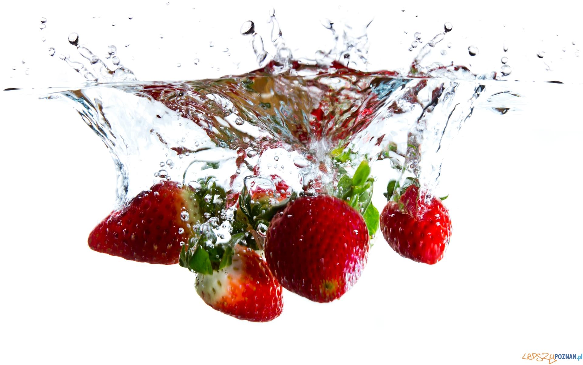 Strawberry Water Splash  Foto: sxc