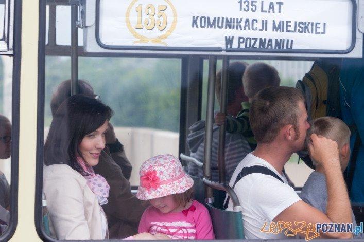 135 lat Komunikacji Miejskiej w Poznaniu  Foto: lepszyPOZNAN.pl / Piotr Rychter