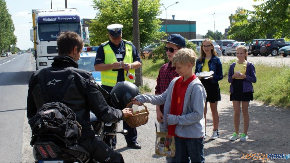 Jabłko czy cytrynka?a  Foto: KW Policji w Poznaniu