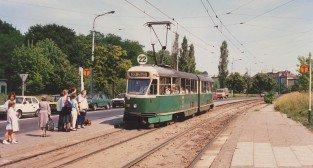 Tramwaj - Winogrady  23.06.1989  Foto: Henrik Carl Nielsen / phototrans.pl