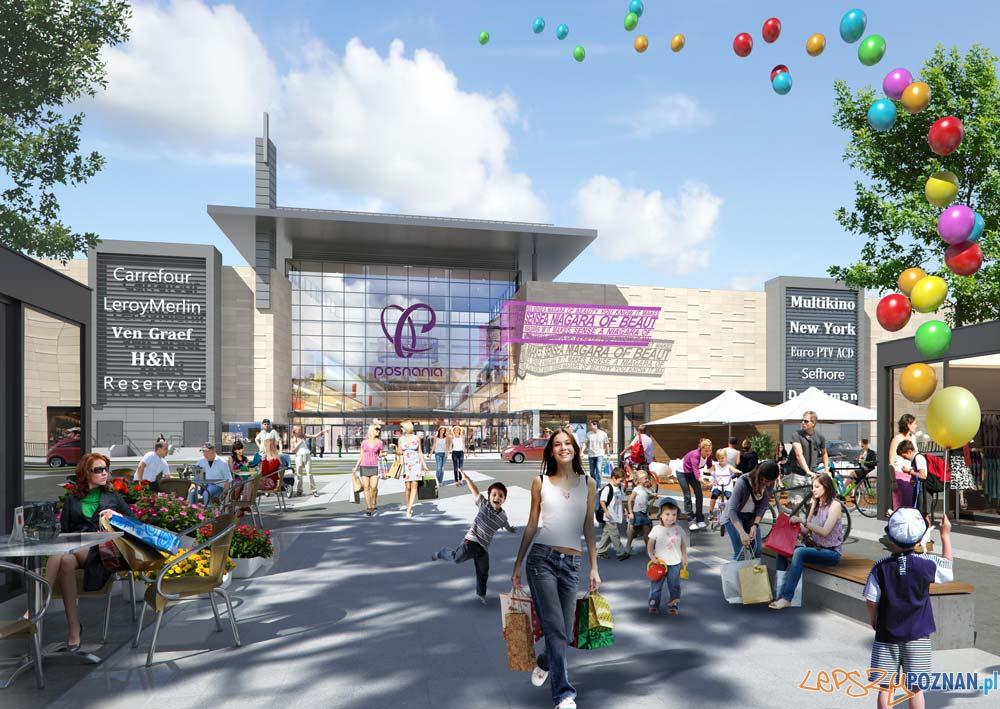 Centrum Handlowe Posnania  Foto: materiały inwestora