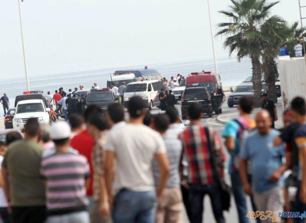Zamach terrorystyczny w Tunezji – trwa sprawdzanie, czy byli tam Polacy  Foto: twitter / Mourad Teyeb