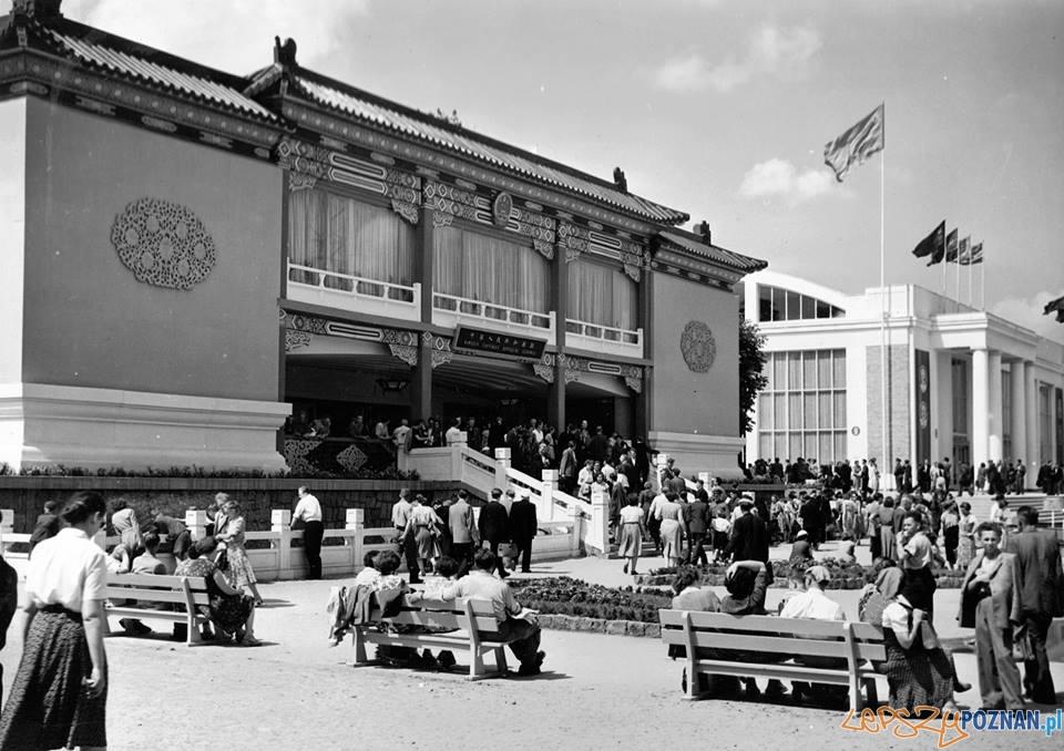 Pawilon chiński na MTP w 1955-56 roku  Foto: Archiwum MTP