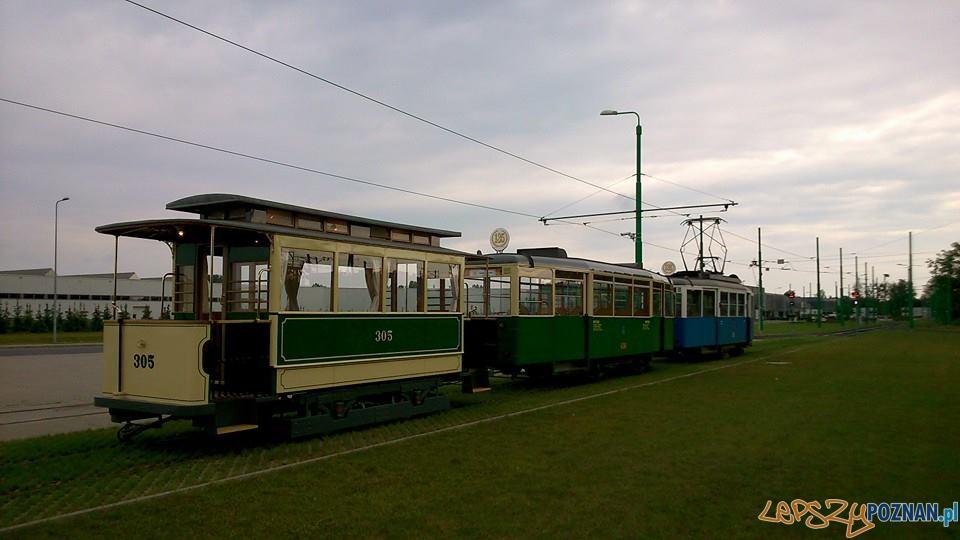 Zabytkowe tramwaje na linii turystycznej  Foto: Krzysztof Dostatni