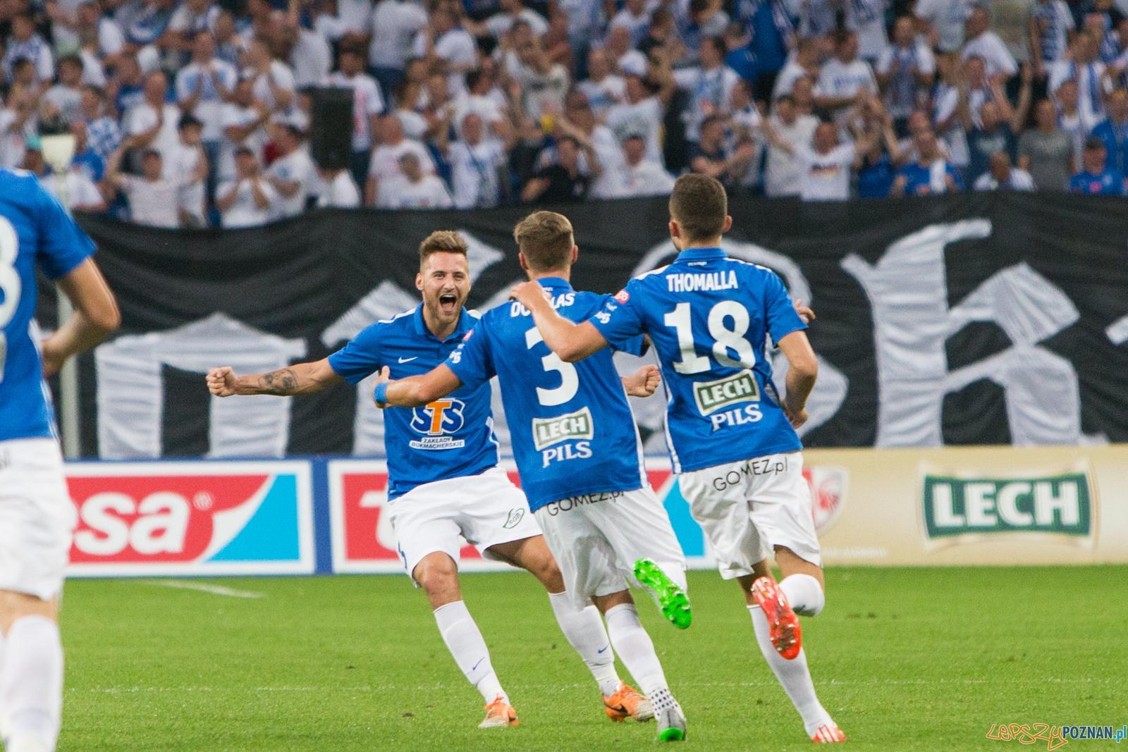 Eliminacje Ligii Mistrzów - Lech Poznań - FK Sarajevo  Foto: lepszyPOZNAN.pl / Piotr Rychter