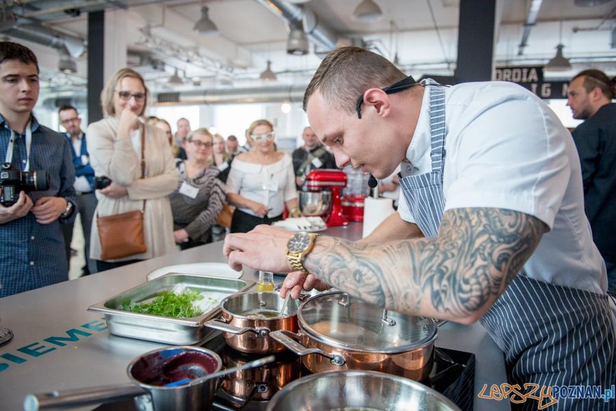 Adam Adamczak - kucharz z Concordia Taste  Foto: M.Zakrzewski / Concordia