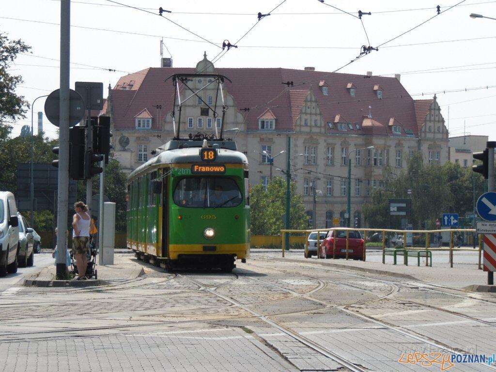 Bimba połączyła Łazarz z centrum  Foto: lazarz.pl / Janusz Ludwiczak