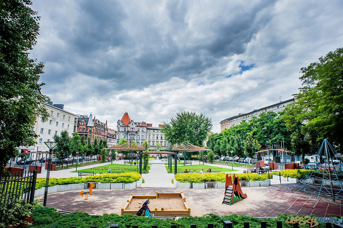 Plac zabaw na Zielonych Ogródkach  Foto: http://www.park-m.pl