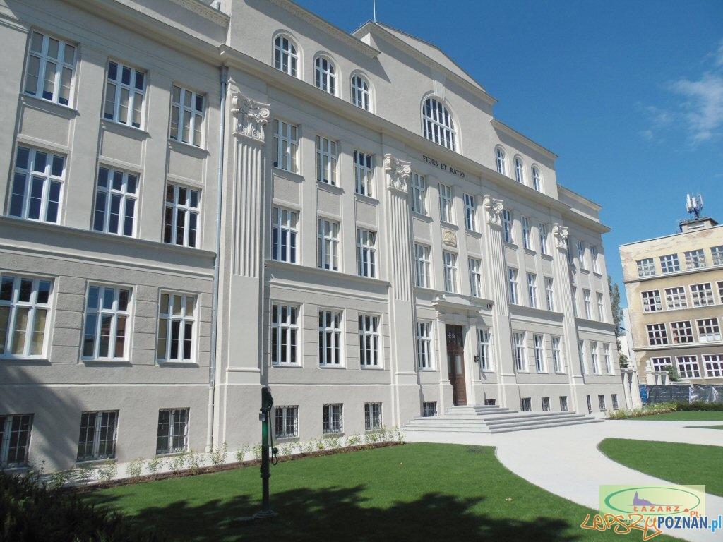 Było VIII LO, jest szkoła katolicka  Foto: lazarz.pl / Janusz Ludwiczak