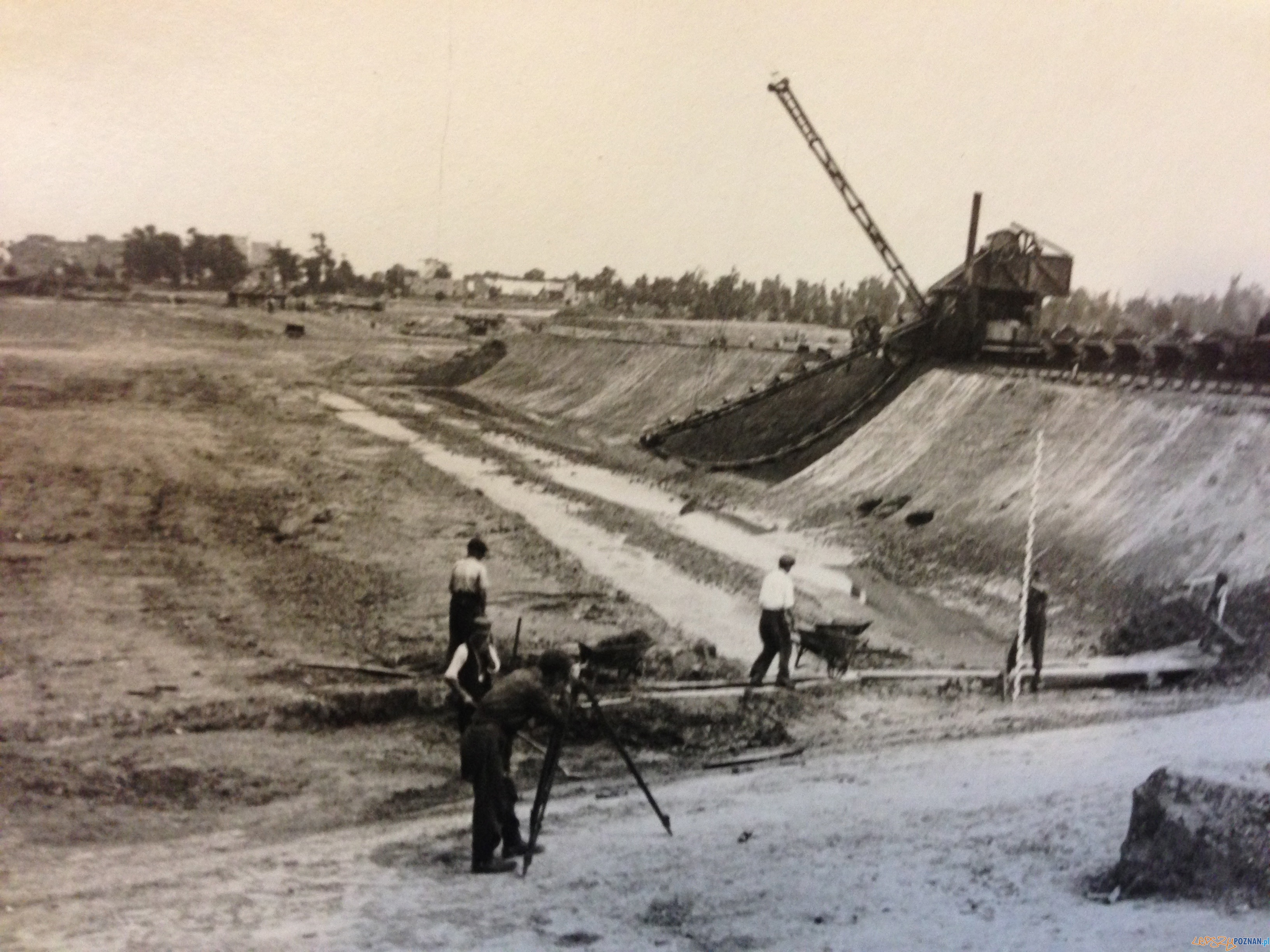 Malta w budowie  Foto: archiwum Biura Miejskiego Konserwatora Zabytków