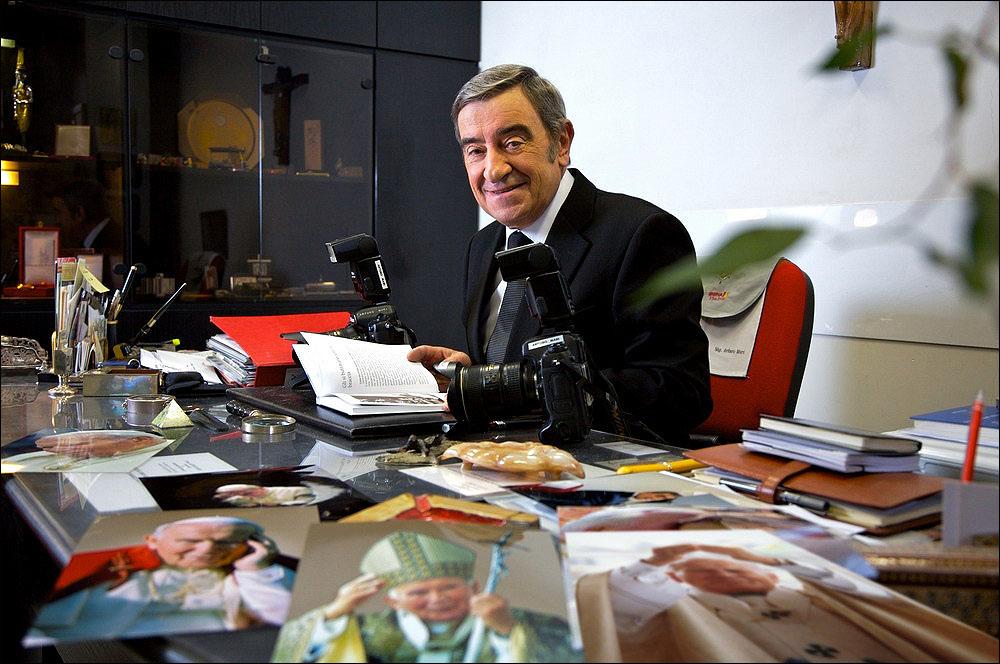 Arturo Mari  Foto: Editoriale Gli Olmi