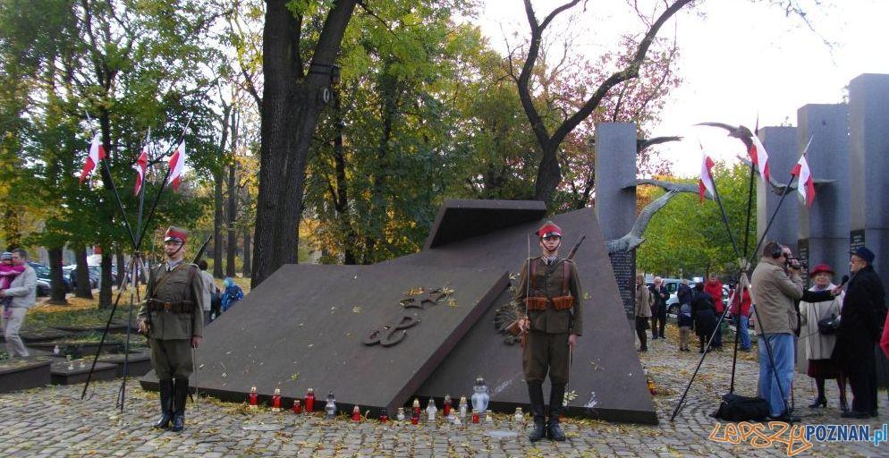 Pomnik Państwa Podziemnego  Foto: IPN