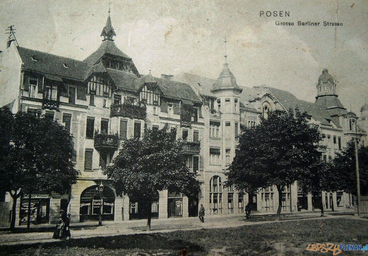 Dabrowskiego - dziś Teatr Nowy 1905-1910  Foto: