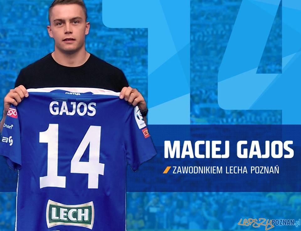 Maciej Gajos  Foto: Lech Poznań