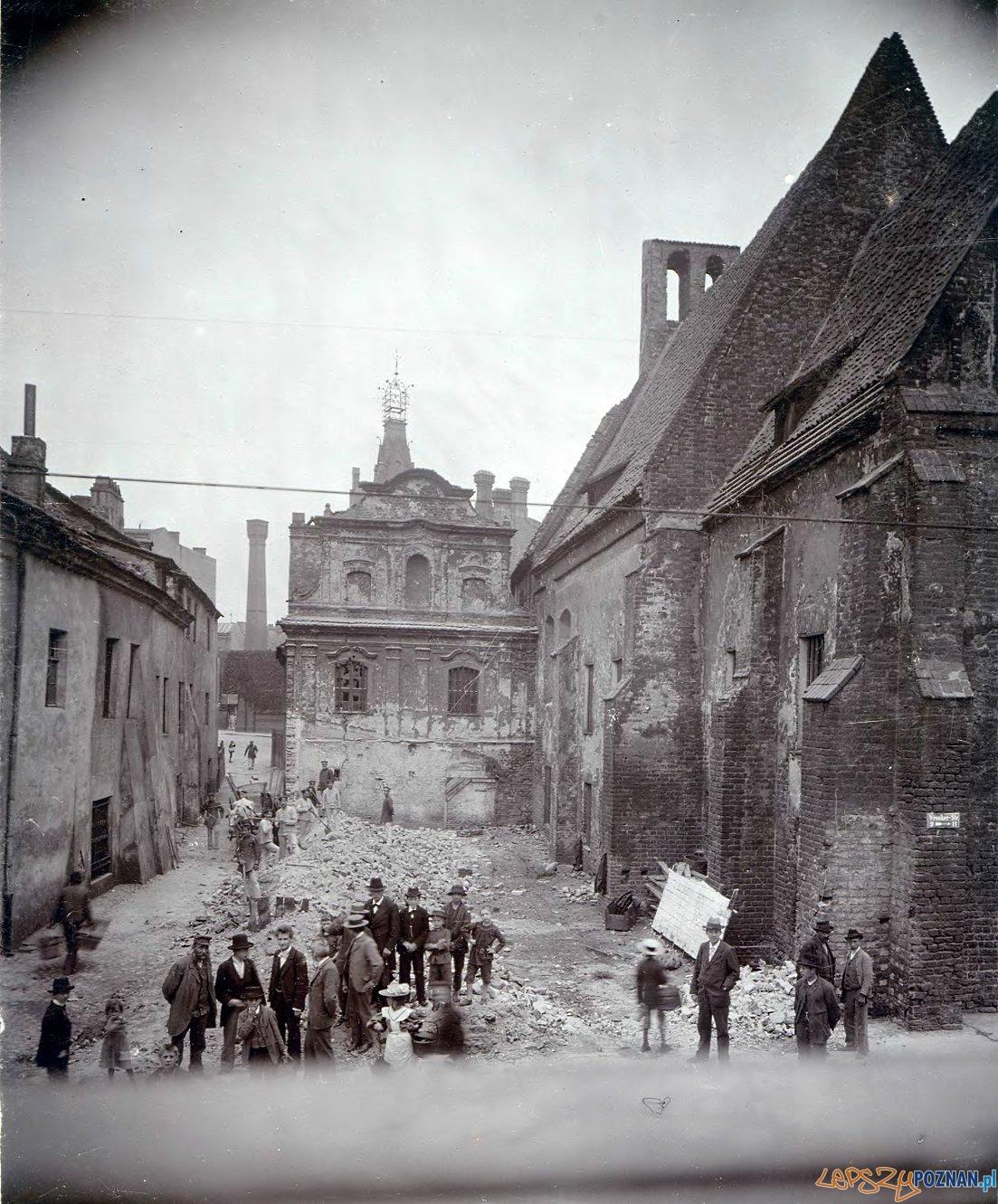 Klasztor Katarzynek Masztalarska (4) 1898  Foto: