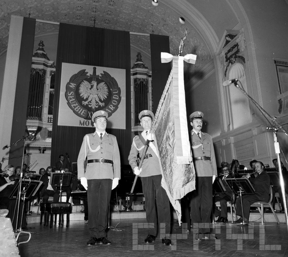 Obchody 30 rcznicy utworzenia Milicji Obywatelskiej  Foto: Stanisław Wiktor / Cyryl