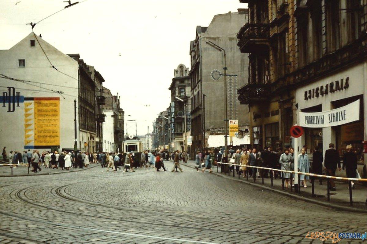 Ulica 27 grudnia - rok 1960  Foto: