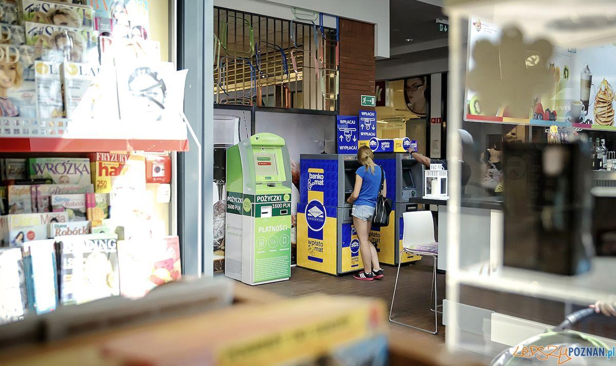 Bankomaty w galerii  Foto: Arkadiusz Obszynski