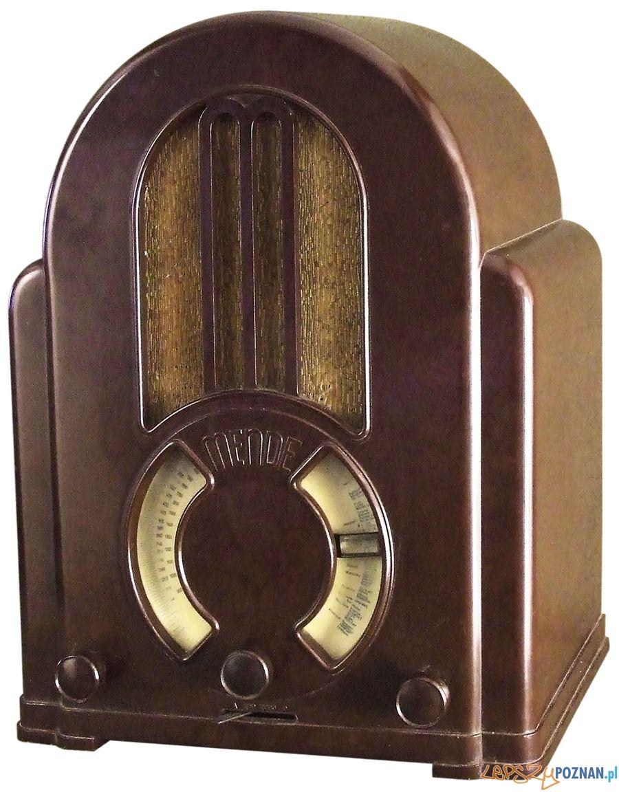 Radioodbiornik Mende 180 W (1932-33) z kolekcji Jacka Bochińskiego  Foto: Muzeum Narodowe w Poznaniu