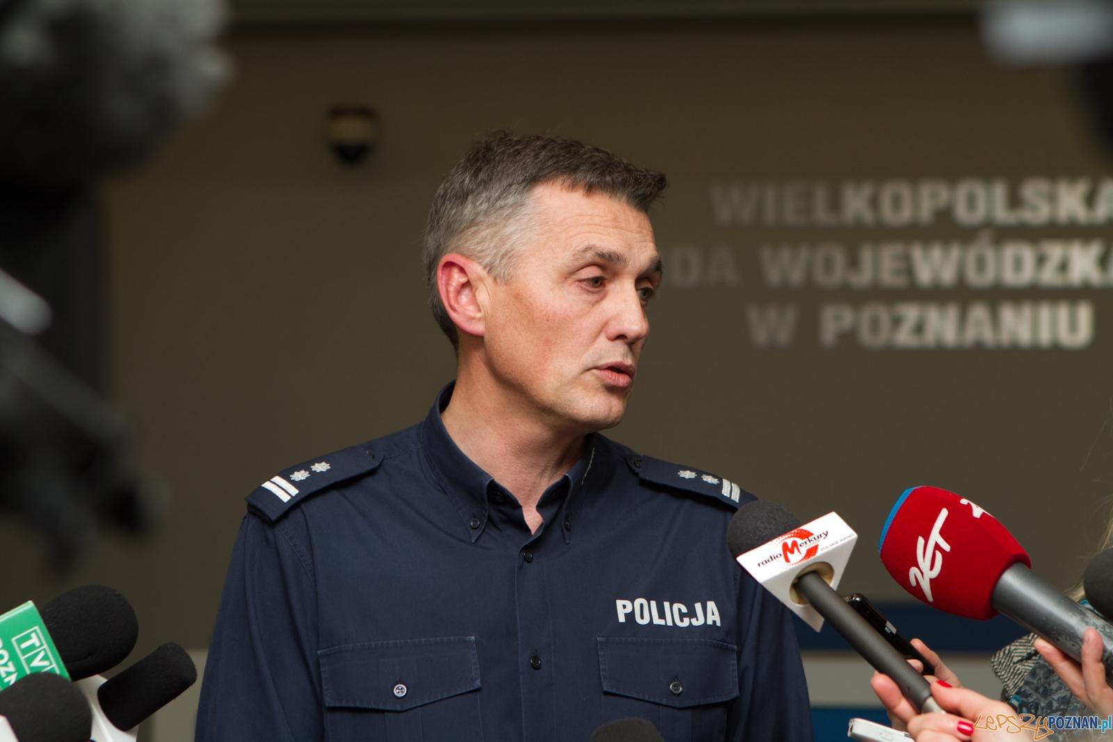 Rzecznik prasowy KWP Andrzej Borowiak  Foto: LepszyPOZNAN.pl / Paweł Rychter