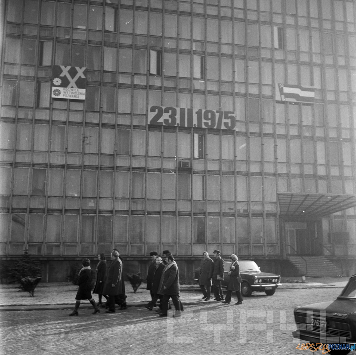 Wizyta delegacji KPZR z Charkowa w Fabryce Łożysk Tocznych   21.02.1975  Foto: Stanisław Wiktor  / Cyryl