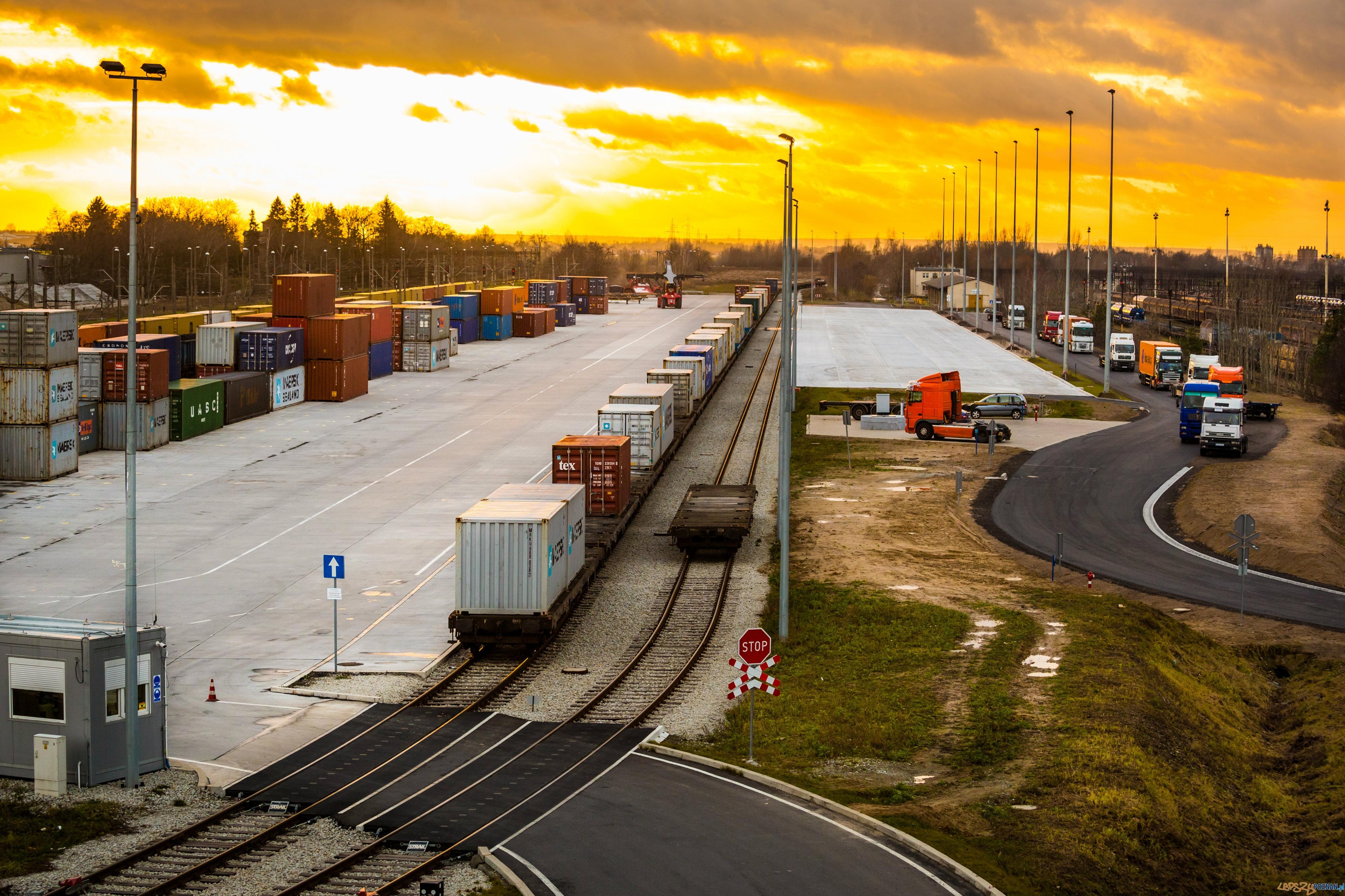 Większy terminal kolejowy na Franowie już gotowy  Foto: PKP CARGO