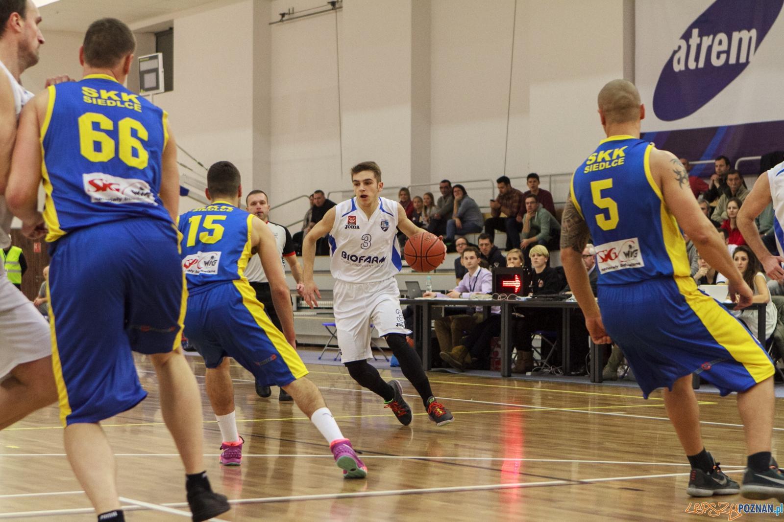 Biofarm Basket Poznań – SKK Siedlce 81-70 (25:17, 16:13, 24:1  Foto: LepszyPOZNAN.pl / Paweł Rychter