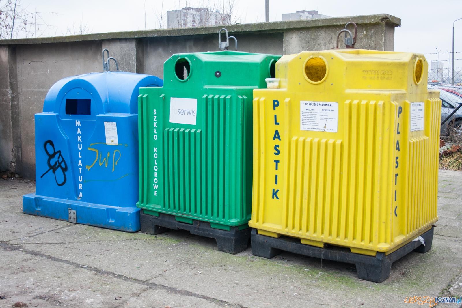 Śmieci / segregacja / segregacja odpadów  Foto: © lepszyPOZNAN.pl / Karolina Kiraga