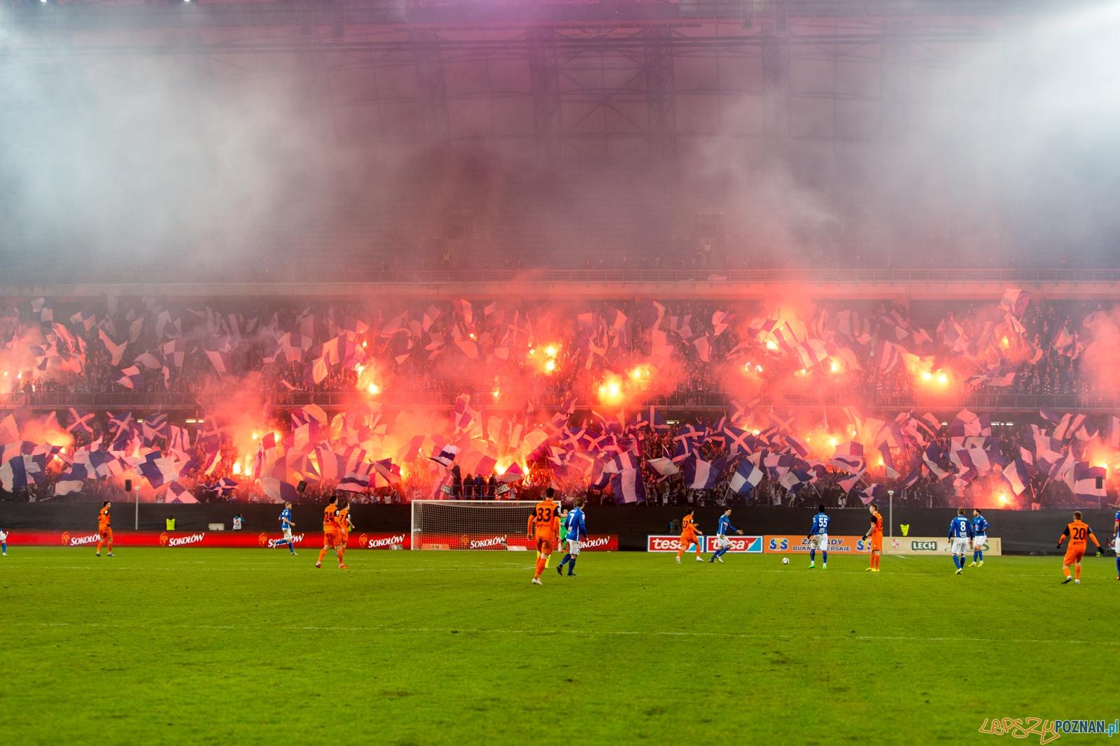 20. kolejka Ekstraklasy - Lech Poznań - Zagłebie Lubin (najlep  Foto: lepszyPOZNAN.pl / Piotr Rychter